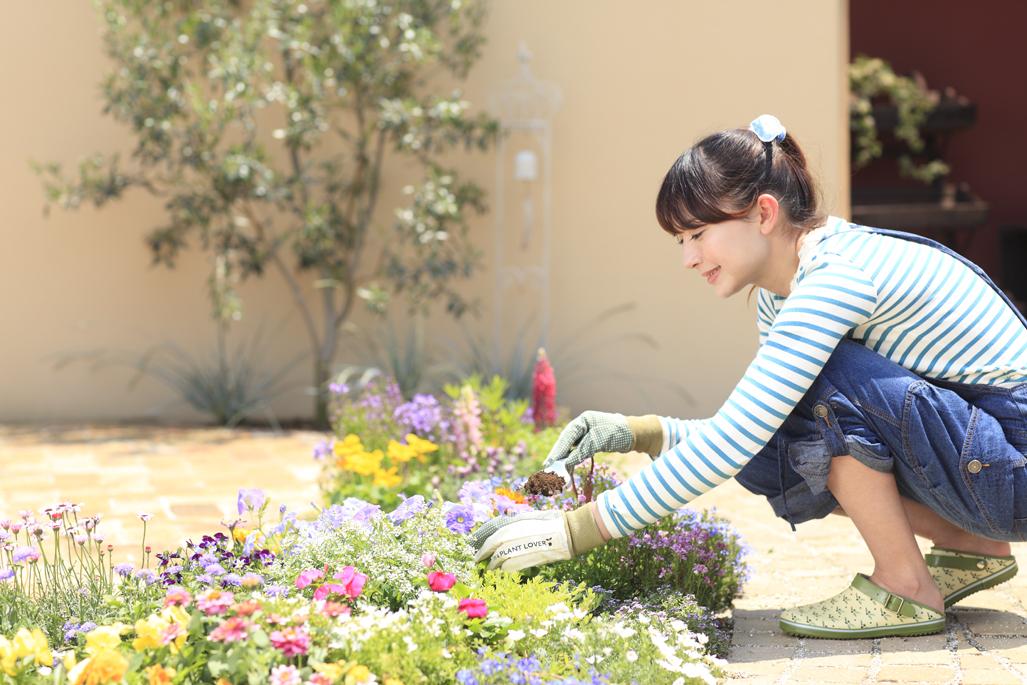 イメージ ガーデンデザイン 女性