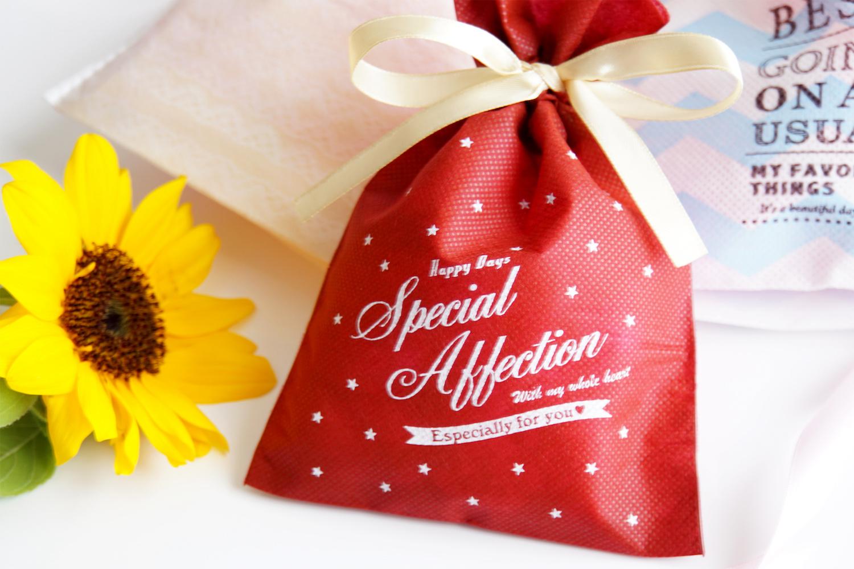 かわいいプレゼント袋